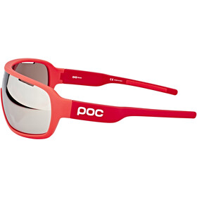 POC DO Blade Glasses bohrium red